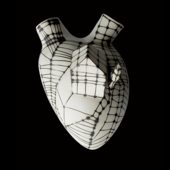 Pepita Anatomical Heart Vase