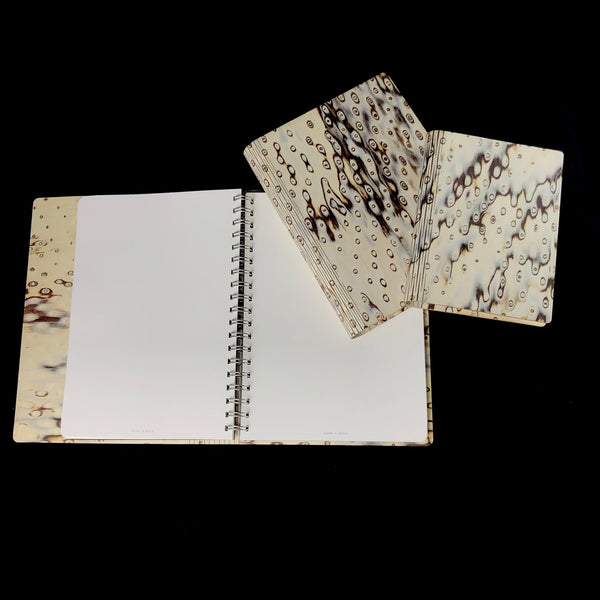 Wild Birch Burr Wood Journal- Small