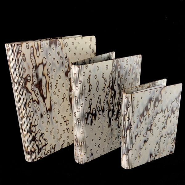 Wild Birch Burr Wood Journal- Medium