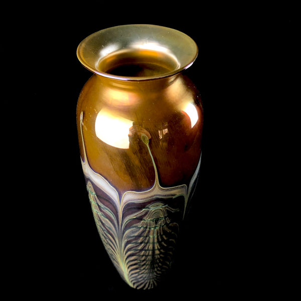 Tall Classical Cathedral Vase