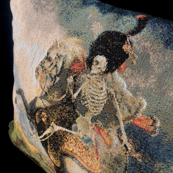 Mounted Skeleton Pillow