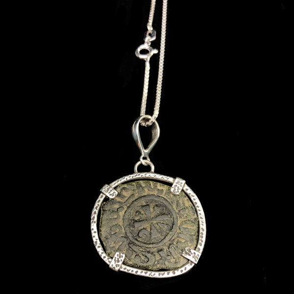 Coin of the Crusades Necklace