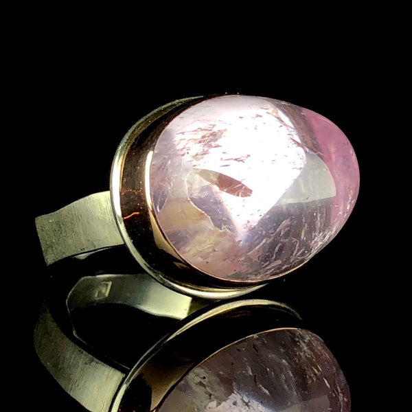 Fine jewelry designer Jamie Joseph hand made ring