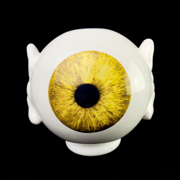Yellow Eye Vase