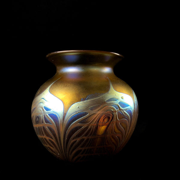 Small Round Cathedral Vase