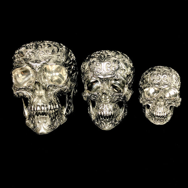 Small Stainless Steel Skull Casting