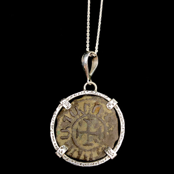 Coin of the Crusades Cage Necklace