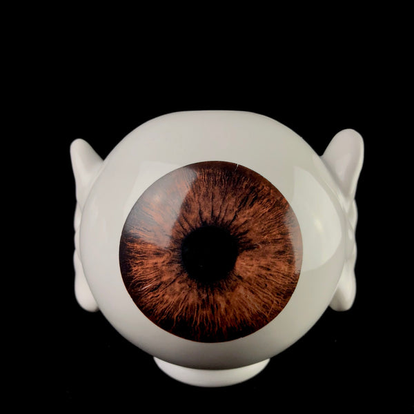 Brown Eye Vase