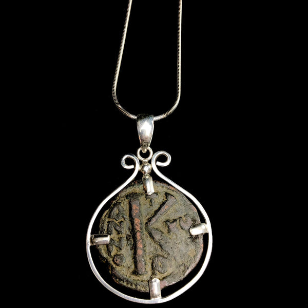 Byzantine Coin Drop Necklace