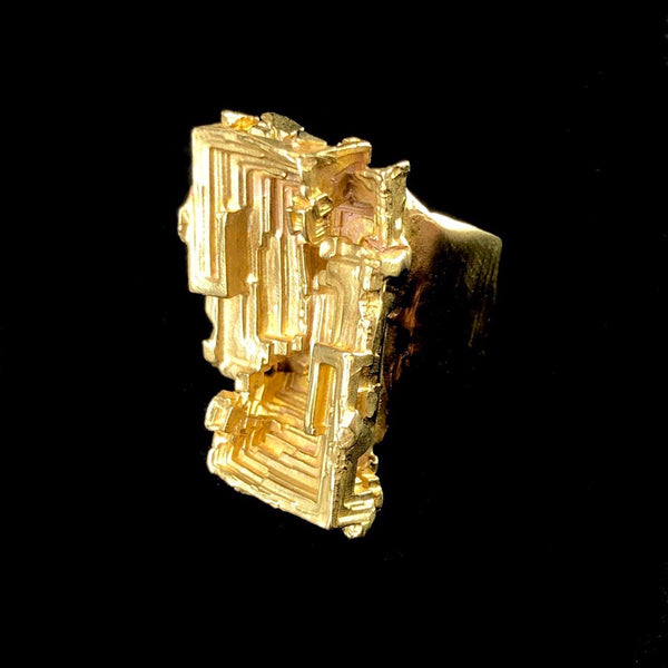 Brass Bismuth Ring