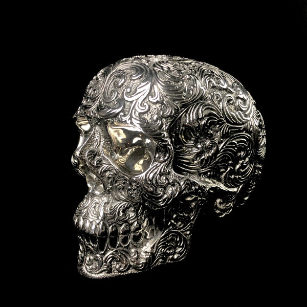 Medium Stainless Steel Skull Casting
