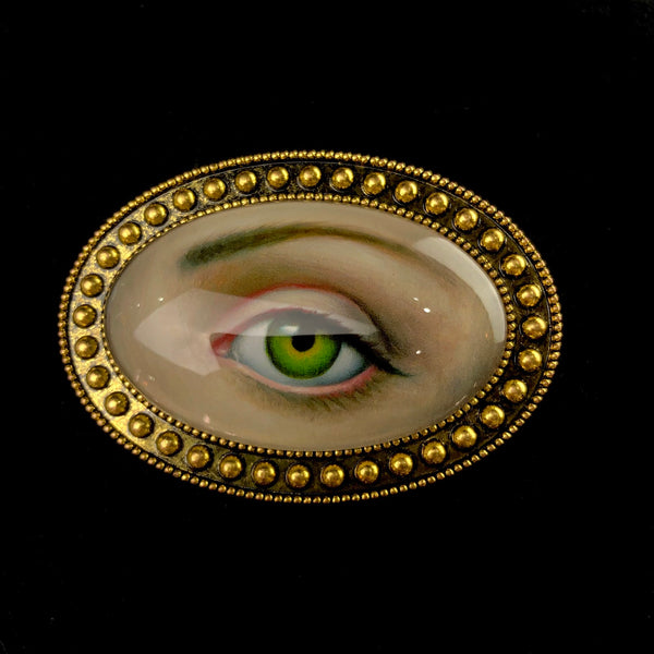 Lover's Eye Brooch