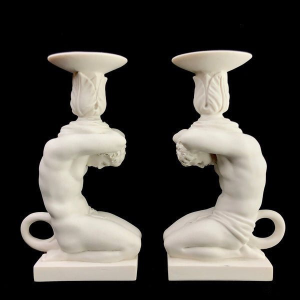 Marble Candlestick Holder