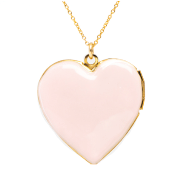 Pink Heart Locket