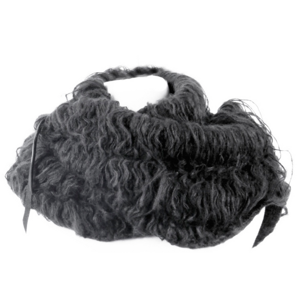 Mohair Snood by Japanese designer Lui Onozaki of KMRii