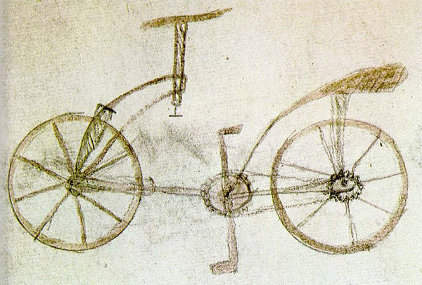 Leonardo da Vinci bicycle draft