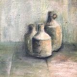 Clay bottles