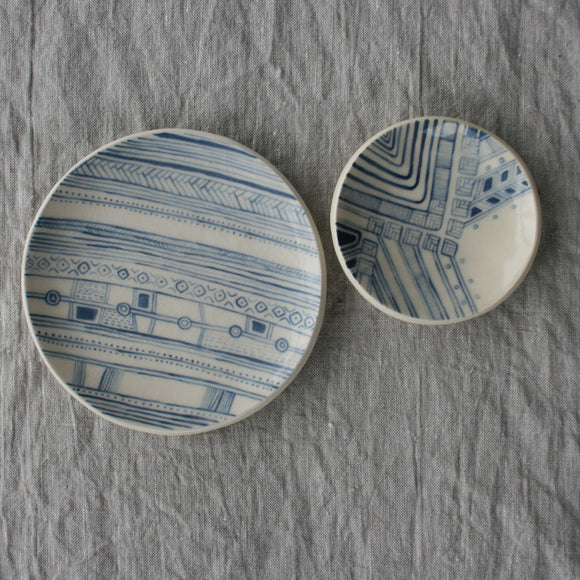 Handbuilt  Ceramics - Pattern Pair