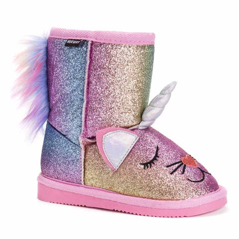 MUK LUKS Kid's Averly Unikitten Boots 9