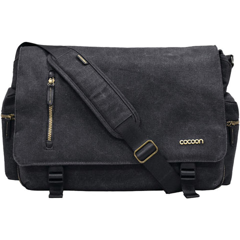 "Cocoon Mmb2704Bk 16"" Urban Adventure Messenger Bag"