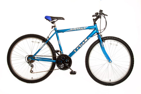 Titan Pioneer Men's 12 Speed Bike - Blue