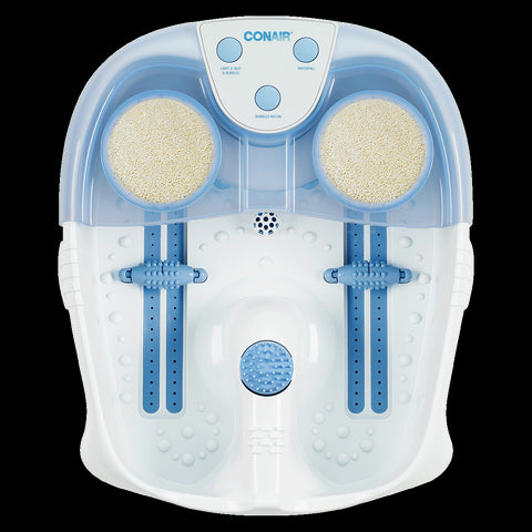 Conair Hydrotherapy Foot Spa with Lights, Bubbles & Heat