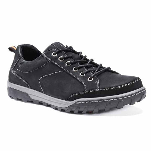 MUK LUKS Men's Max Shoes Black 12