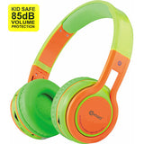 Contixo 85db (Over Ear, Wireless, Green Orange)