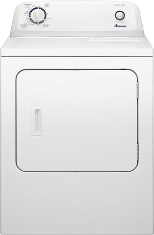 Amana - 6.5 Cu. Ft. 11-Cycle Gas Dryer