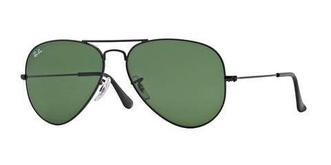 Ray-Ban Aviator Sunglasses - Black