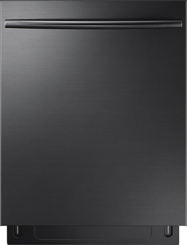 "Samsung - 24"" Top Control Built-In Dishwasher - Black"