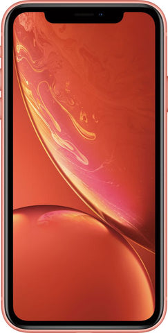 Apple iPhone XR - Coral 128 GB (Unlocked)