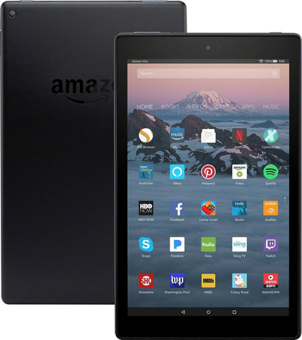 "Amazon Fire HD 10 10.1"" Tablet 32GB 7th Generation 2017 Release Black"