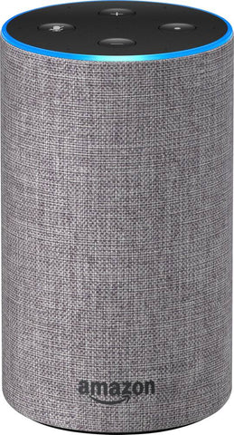 Amazon Echo (2nd generation) Heather Gray Fabric