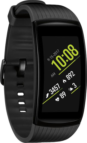 Samsung - Gear Fit2 Pro Fitness Watch (Large) - Black