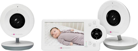"Project Nursery - Video Baby Monitor with 4.3""Screen - White"