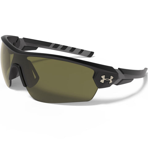 Under Armour UA Rival Sunglasses - Satin Black/Game Day with Multiflection