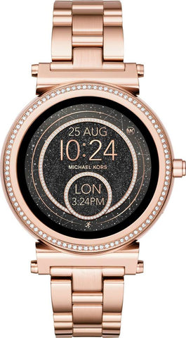 9072662d1498 Michael Kors - Access Sofie Smartwatch 42mm Stainless Steel - Rose gol