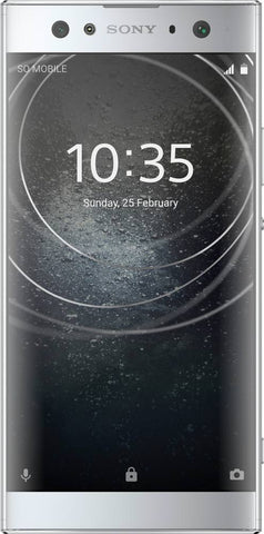 Sony - Xperia XA2 Ultra 4G LTE with 32GB Memory Cell Phone (Unlocked) - Silver