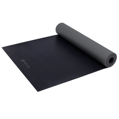 Gaiam Athletic Yoga Duramat - Black