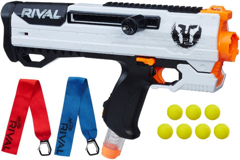 Nerf - Rival Helios XVIII-700 Blaster - Black And White