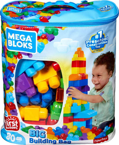 Mega Bloks - First Builders Big Building Bag Building Set