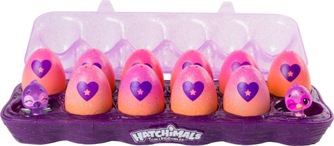 Hatchimals - CollEGGtibles 12-Pack Egg Carton - Blind Box - Styles May Vary
