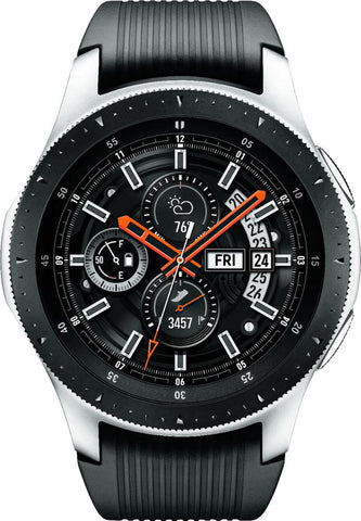 Samsung - Galaxy Watch Smartwatch 46mm Stainless Steel - Silver