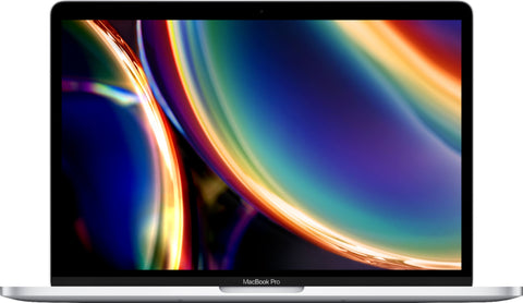 "Apple - MacBook Pro - 13"" Display with Touch Bar - Intel Core i5 - 8GB Memory - 256GB SSD (Mid 2020) - Silver"
