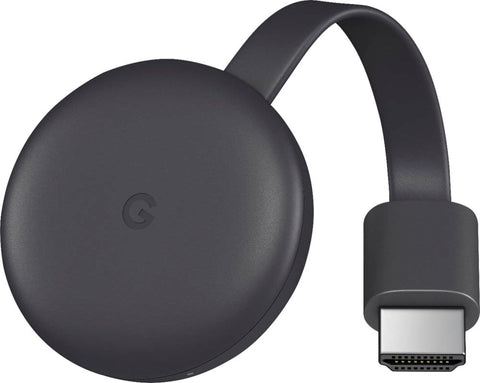 Google - Chromecast (Latest Model) Streaming Media Player - Charcoal