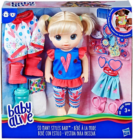 Baby Alive - Baby Alive - So Many Styles Doll