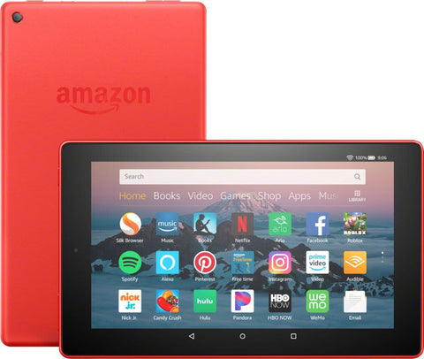 "Amazon - Fire HD 8 - 8""- Tablet - 32GB 8th Generation  2018 Release - Punch Red"