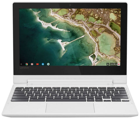 "Lenovo - 2-in-1 11.6"" Touch-Screen Chromebook - MT8173c - 4GB Memory - 32GB eMMC Flash Memory - Blizzard White"
