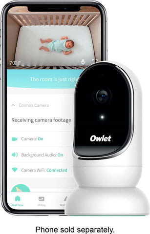 Owlet - Owlet Cam Wi-Fi Video Baby Monitor